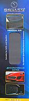 Защитно декоративная сетка для бампера и радиатора Sahler №2, 100*30 см  черная