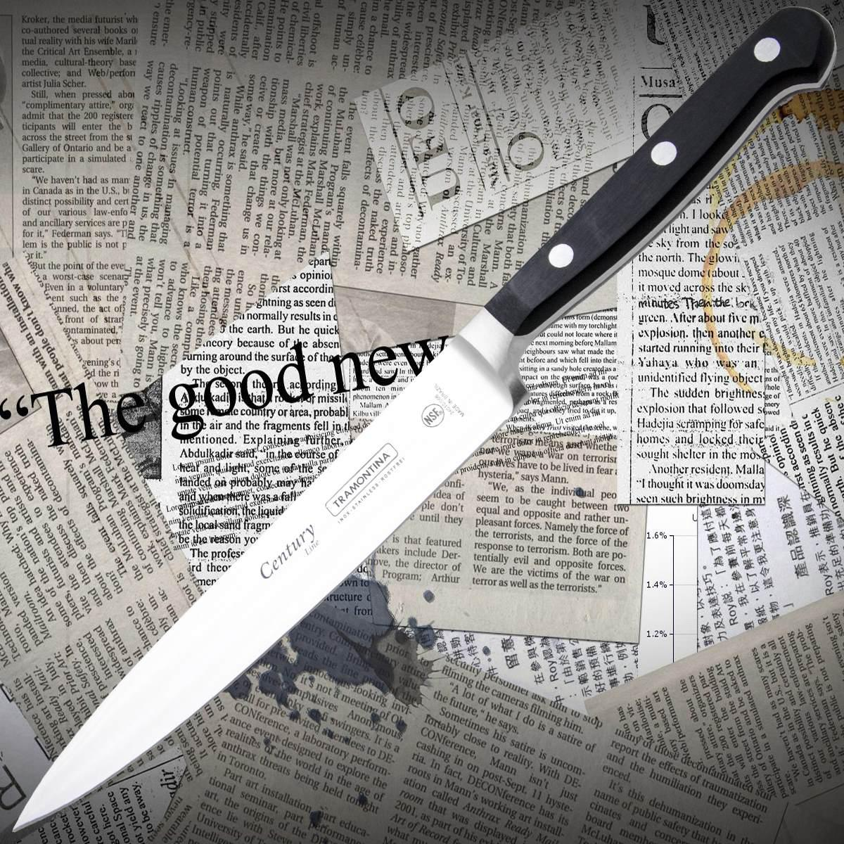 Нож кухонный Tramontina 24010/106 CENTURY нарезной