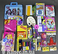Набор первоклассника «Стандарт люкс» для девочек подарок выпускнику детского сада