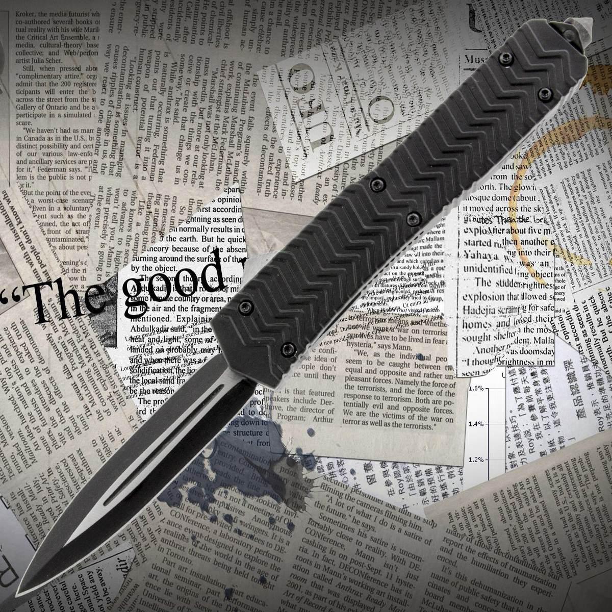 Автоматический выкидной нож Тотем 7310