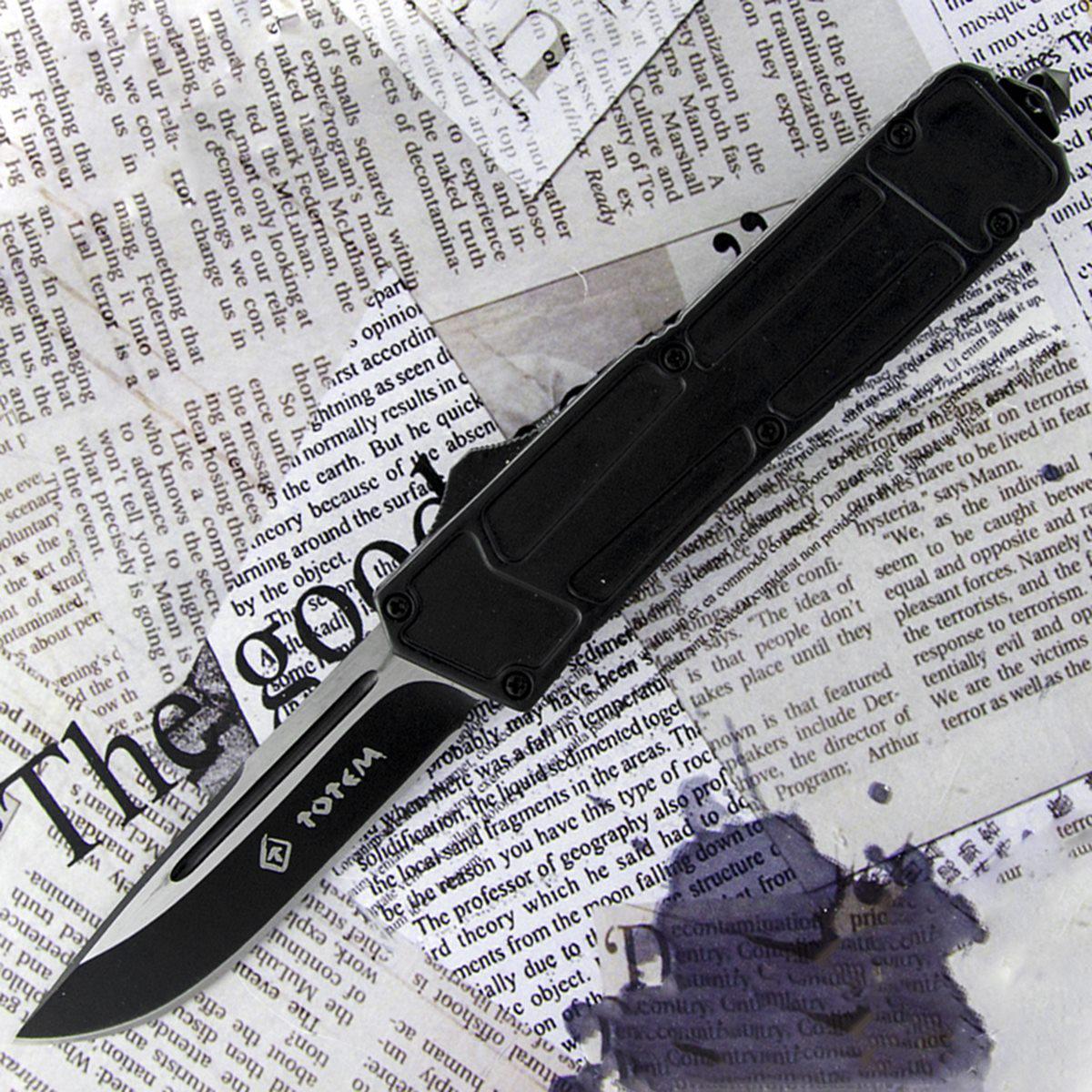 Автоматический выкидной нож Тотем 2009