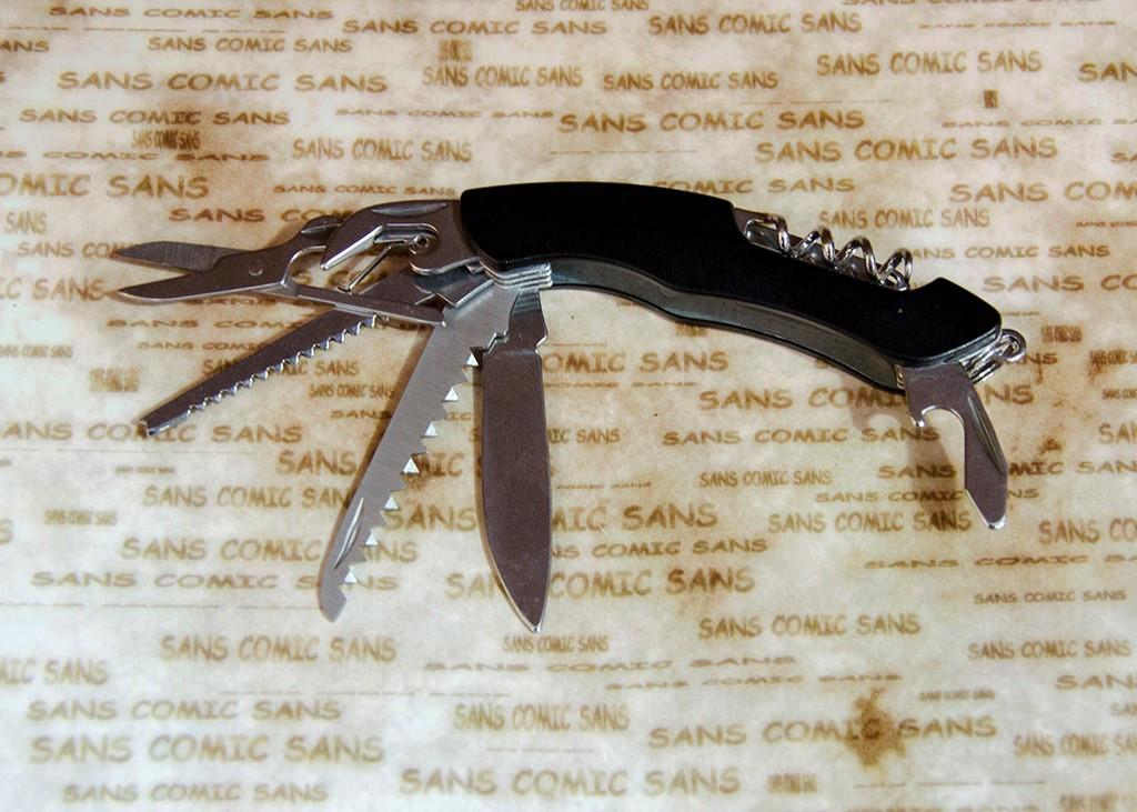 Многофункциональный нож Тотем KY3011LG