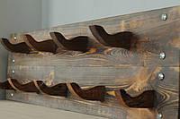Вешалка из массива дерева настенная, фото 1