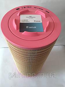 Элемент фильтра воздушного наружный C25710 (545994/ 799796/ 3902806M1/ P782105), Claas Tucano (MANN)