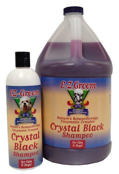 Шампунь для собак и кошек EZ GROOM Кристально черный