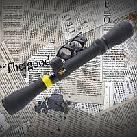 Прицел BSA Sweet 3-9*32 MilDot крепление ласточкин хвост, ручной ввод поправок защитные колпачки