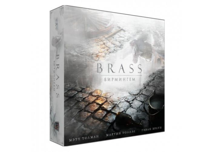 """Настольная игра """"Brass: Бирмингем (Brass: Birmingham)"""" Crowd Games"""