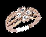 Кольцо  женское серебряное Гармония 21230, фото 2