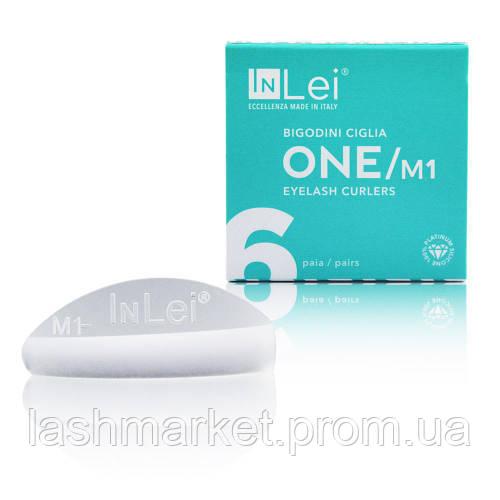 Силиконовые бигуди(валики) InLei (размер М1) для ламинирования ресниц