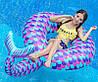 Пляжный Надувной Круг Хвост Русалки для Плавания и Отдыха Матрас в Виде Русалки, фото 6