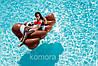 Пляжный Надувной Матрас для Плавания и Отдыха Эмодзи Какашка 165 х 150 см Лежак в Виде Какахи, фото 6