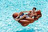 Пляжный Надувной Матрас для Плавания и Отдыха Эмодзи Какашка 165 х 150 см Лежак в Виде Какахи, фото 7