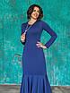 Трикотажное синее Платье Илэрия, фото 2