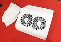 Пылесос для ногтей с двумя вентиляторами 48ватт(белая)
