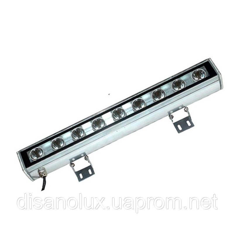 Led  линейный  светильник для архитектурной подсветки HZ-003  9W RGB 220V IP65