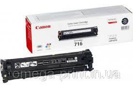 Заправка картриджа  Canon 716 BLACK