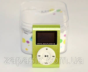 Портативный Мини MP3 Плеер с LCD Дисплеем USB SD FM am