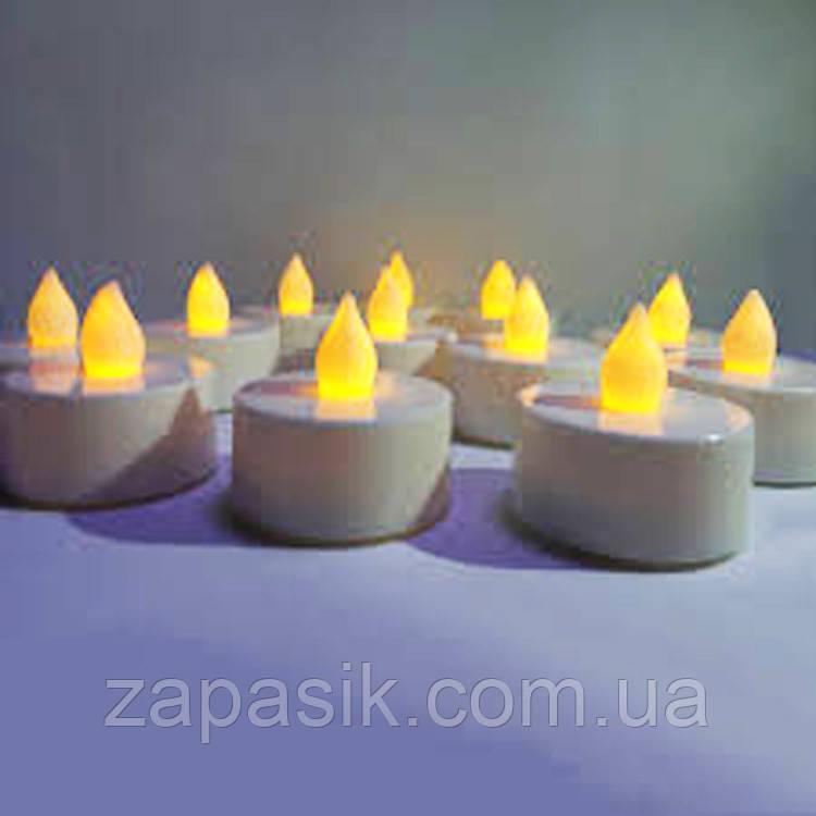 Праздничные Свечи Светильники в Наборе 24 шт для Party Романтики Нового Года Дня Рождения и Вечеринок