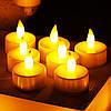 Праздничные Свечи Светильники в Наборе 24 шт для Party Романтики Нового Года Дня Рождения и Вечеринок, фото 6