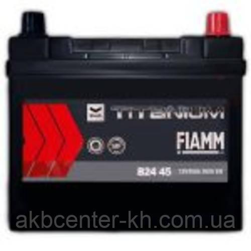 Автомобильный аккумулятор FIAMM TITANIUM BLACK ASIA Jp 6СТ- 45Аз 360А R (B24J)