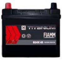 Автомобильный аккумулятор FIAMM TITANIUM BLACK ASIA Jp 6СТ- 45Аз 360А L