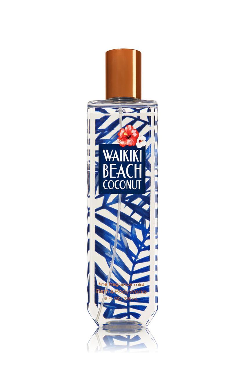 Спрей для тела Bath & Body Works Waikiki Beach Coconut Fragrance Mist
