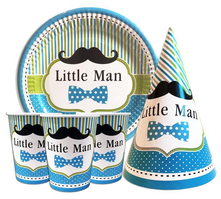 """Набор для детского дня рождения """"Little man"""""""