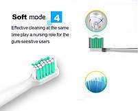 Azdent AZ-1 Pro Sonic Black Звуковая электрическая зубная щетка, 4 насадки, фото 5