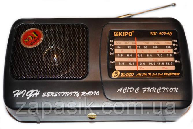 Радиоприемник Kipo KB 409 АС Радио am