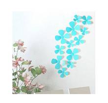Декор квіточки бірюзові