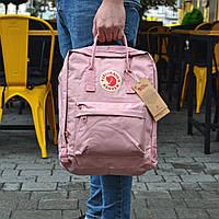 Рюкзак Fjallraven Kanken (розовый) 16 л.