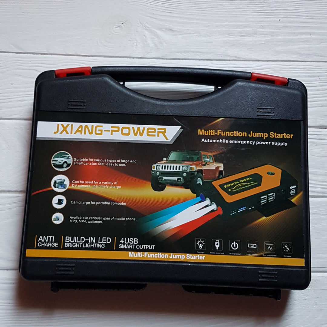 Пусковий пристрій Jump Starter 69800 (джамп стартер) для авто 69800
