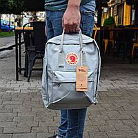 Рюкзак Fjallraven Kanken (серый) 16 л.