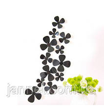 Декор квіточки чорні