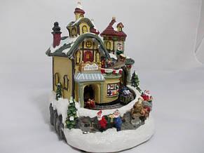 """Будиночок світлодіодний """"Фабрика іграшок""""., фото 3"""