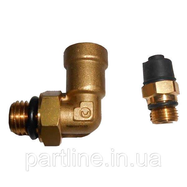 Фитинг (к-т 2 шт) для установки МПДП КамАЗ (пр-во Camozzi), арт. D6502 8-М12х1,5-S/DS6510 4-М10х1-S