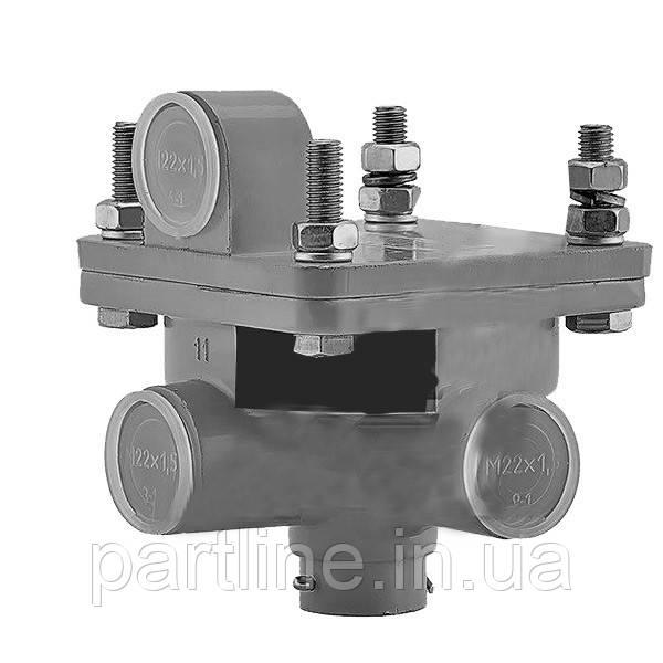 Клапан ускорительный (Автокомпонент Плюс) КамАЗ, МАЗ, ЗИЛ, арт. 16-3518010