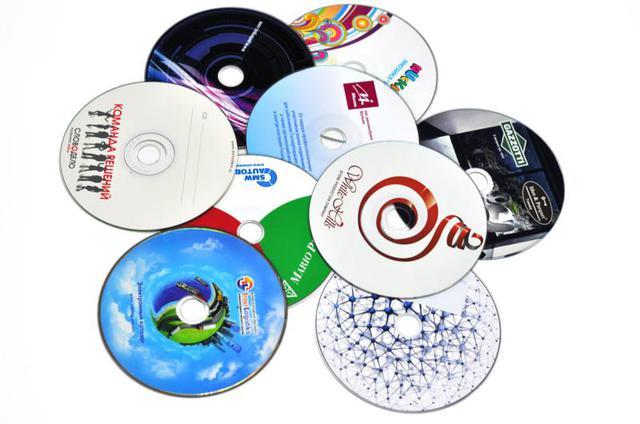 Печать на DVD дисках в Днепре
