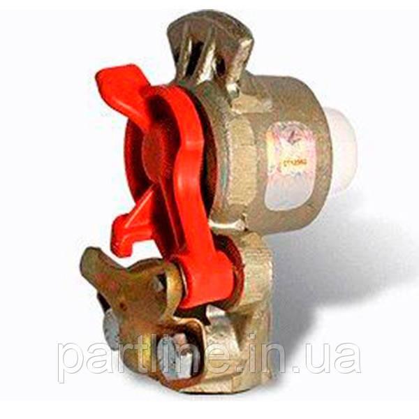 Головка соед. ПАЛМ с фильтр.(красн.) (ПААЗ) (М22) КамАЗ, МАЗ, КрАЗ, ЗиЛ, арт. 11-3521510