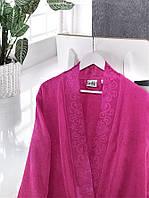 Бамбуковый махровый халат Ladik Jessi v4 размер s и m