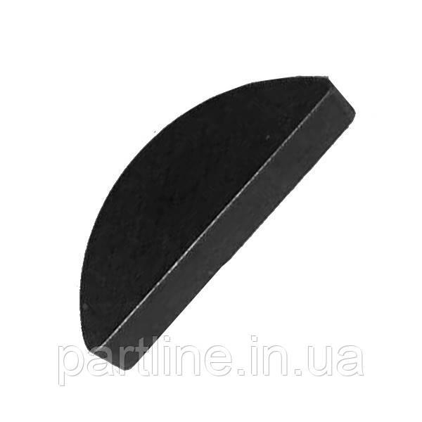 Шпонка сегментная (10х17х55) пром.вала КПП (пр-во КамАЗ), арт. 870823