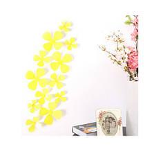 Декор жовті квіточки - в наборі 12шт.