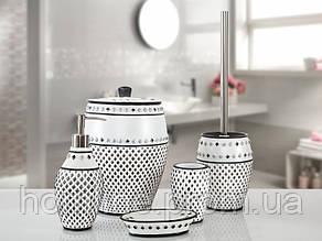 Комплект в ванную Irya Ottova gri серый (5 предметов)
