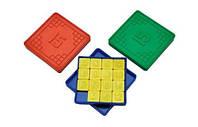 Игра пятнашки настольная логическая 84x84x11 мм МЕД пластик