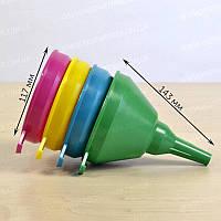 Пластиковая воронка большая Ø117 мм МЕД пластик