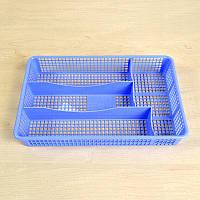 Пластиковый лоток для столовых предметов в ящик 33x22,5 см ММ-Пласт