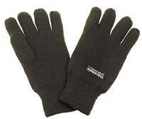 Перчатки вязанные зимние MFH с утеплителем Thinsulate олива