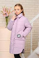 Куртка демисезонная для девочек, утеплитель холофайбер (весна), размеры 34-42
