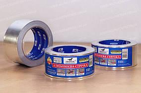Алюминиевая лента скотч для монтажных работ самоклеящаяся 40мкн*50мм*10м Mustang