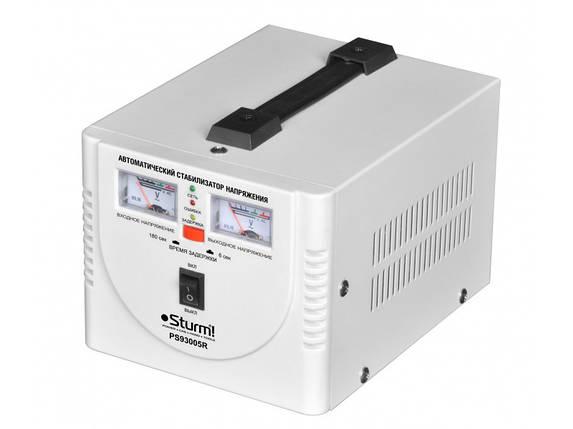 Стабилизатор напряжения релейный Sturm 500 ВA PS930051R , фото 2